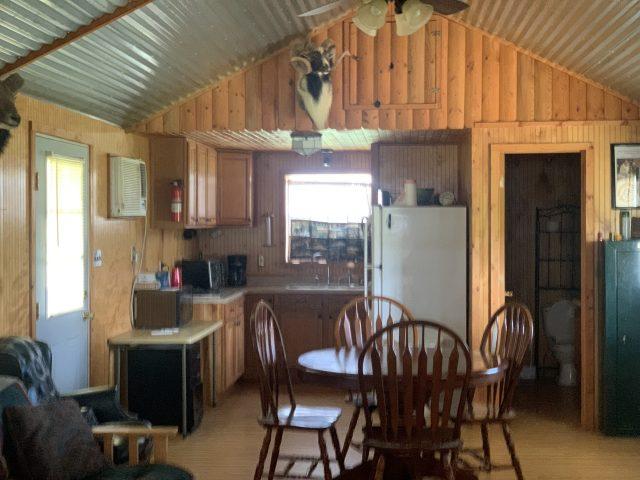 Lone Star Hunts - Cabin Kitchen