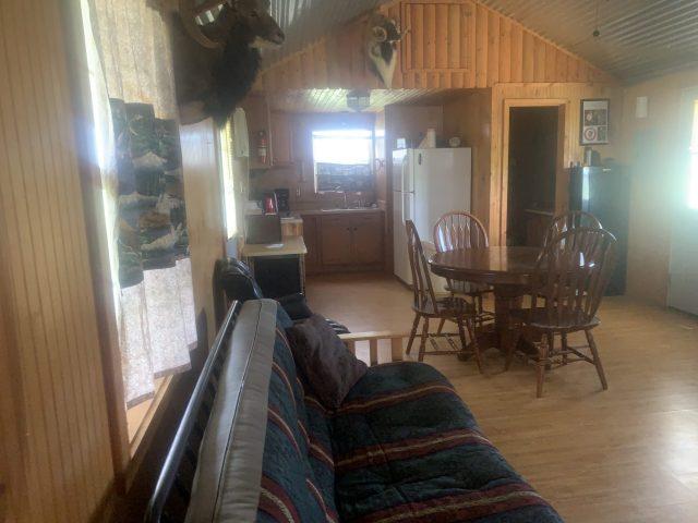 Lone Star Hunts Cabin Kitchen