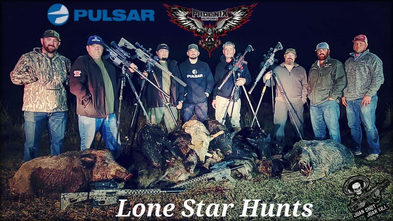 Pulsar Night Imaging group at Lone Star Hunts